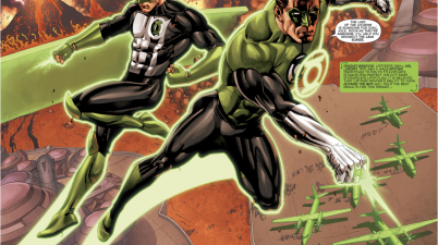 Hal Jordan And Kyle Rayner (Hal Jordan And The Green Lantern Corps #33)