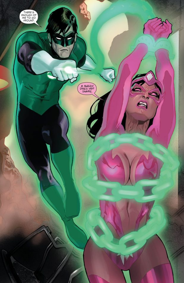 Hal Jordan And Star Sapphire (Green Lantern Vol 4 #18)
