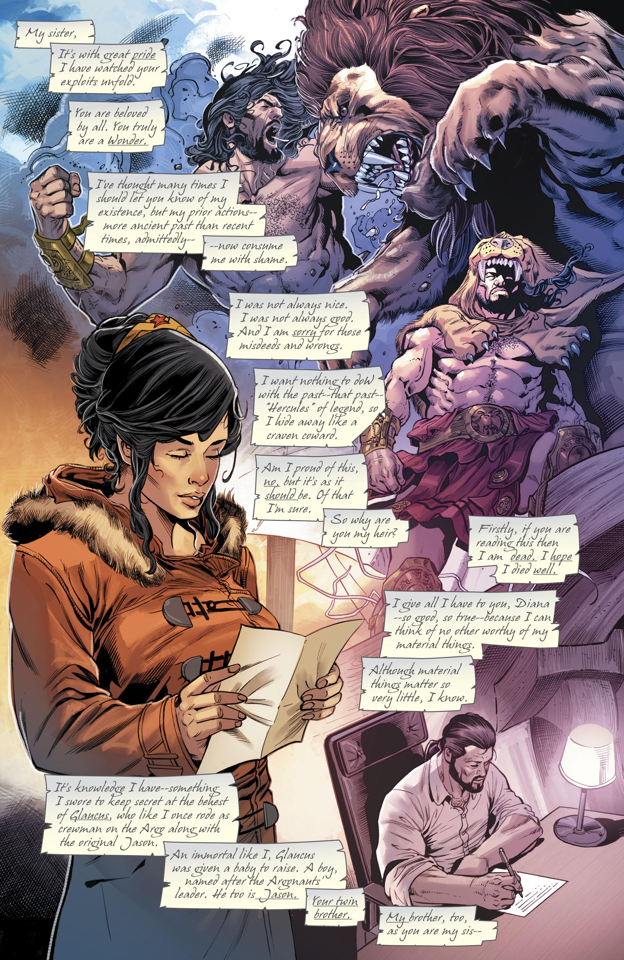 Hercules imenuje Wonder Woman njegov dedič Porodnik Comicnewbies-9793