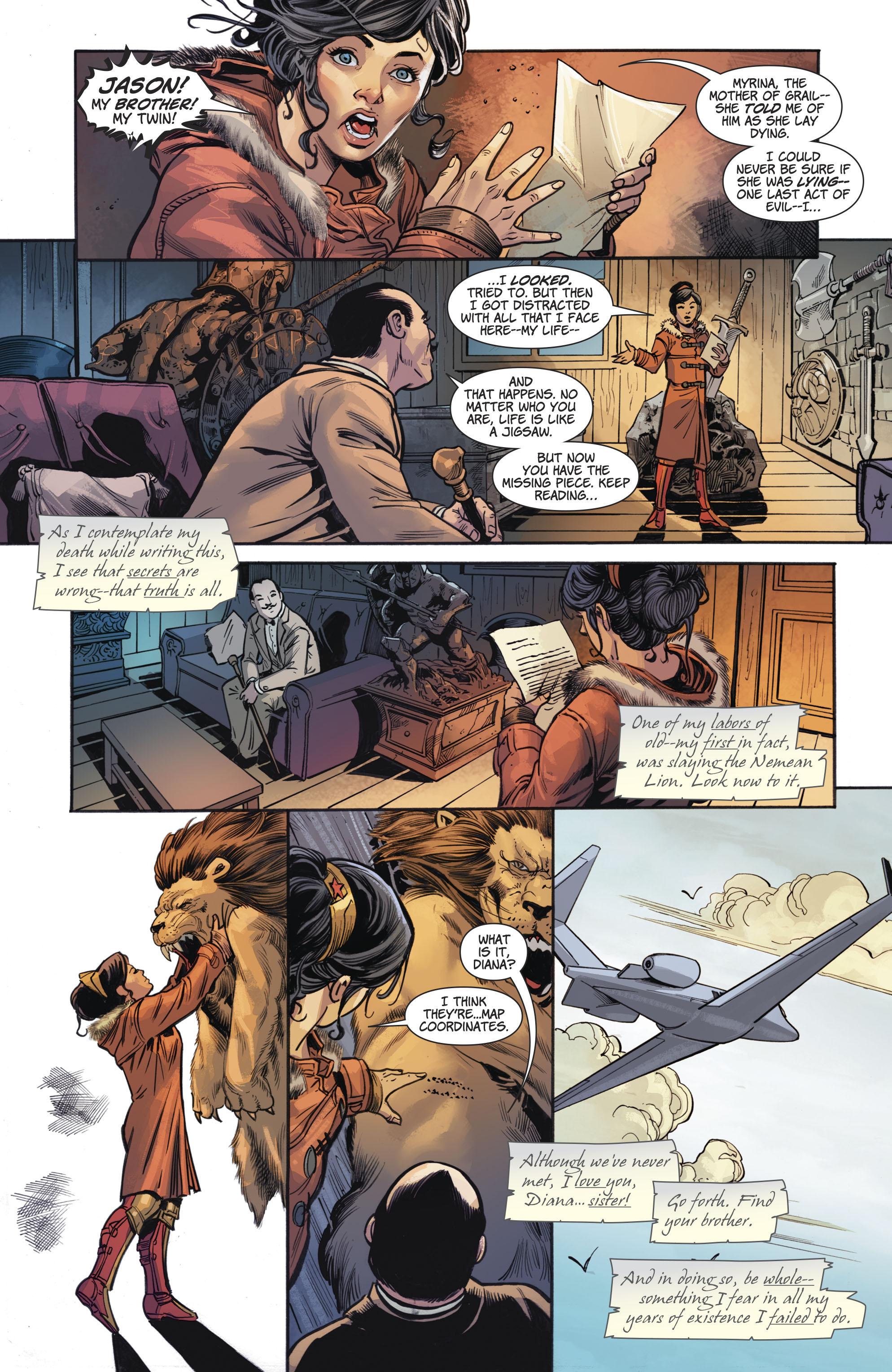 Hercules imenuje Wonder Woman njegov dedič Porodnik Comicnewbies-6097