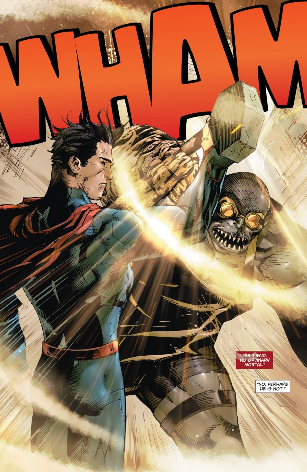 How Hephaestus Tested Superman (New 52)
