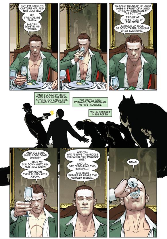 How The Riddler Plans On Killing Batman (Rebirth)
