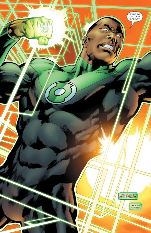 John Stewart (Green Lantern Vol 4 #17)