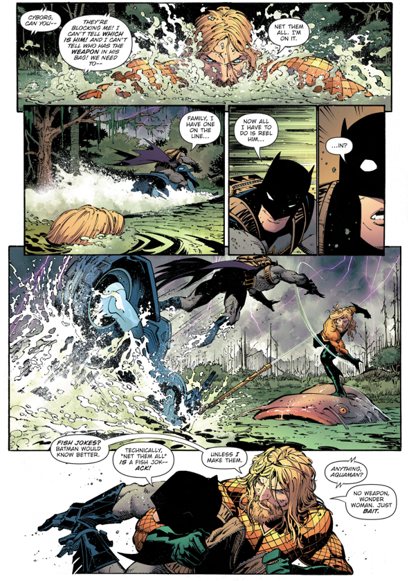 Justice League Captures The Bat Family (Dark Nights)
