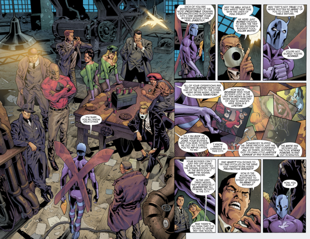 Killer Moth Organizes His Own Group Of Villains (Rebirth)