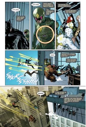 Kite-Man Betrays The Riddler