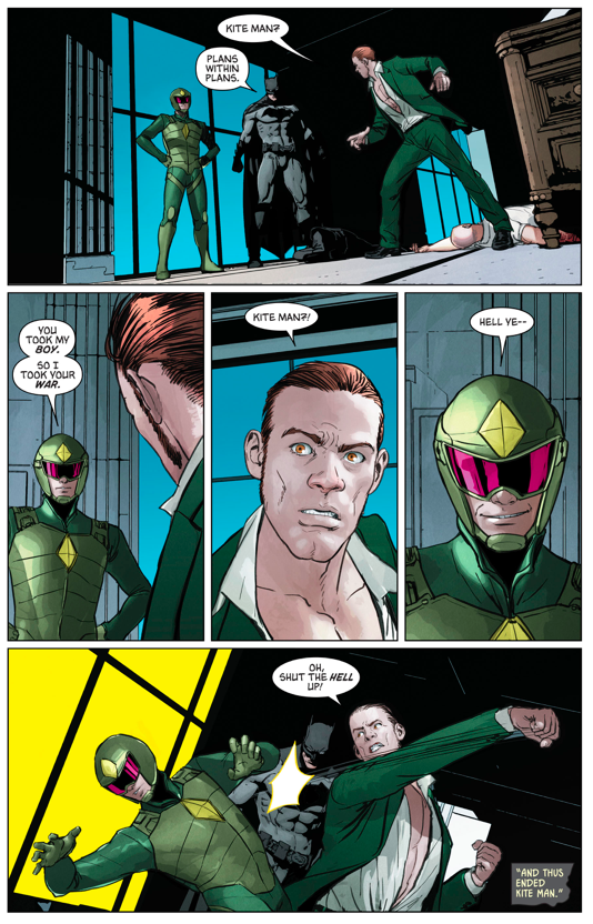 Kite-Man Betrays The Riddler