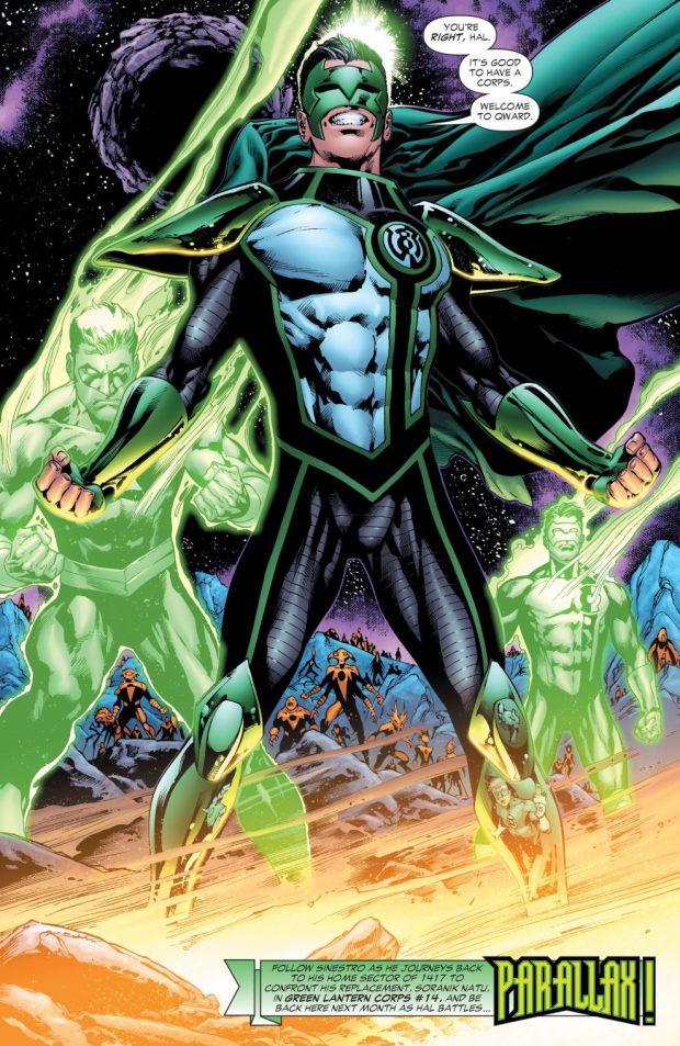 Parallax-Kyle Rayner (Green Lantern Vol 4 #21)