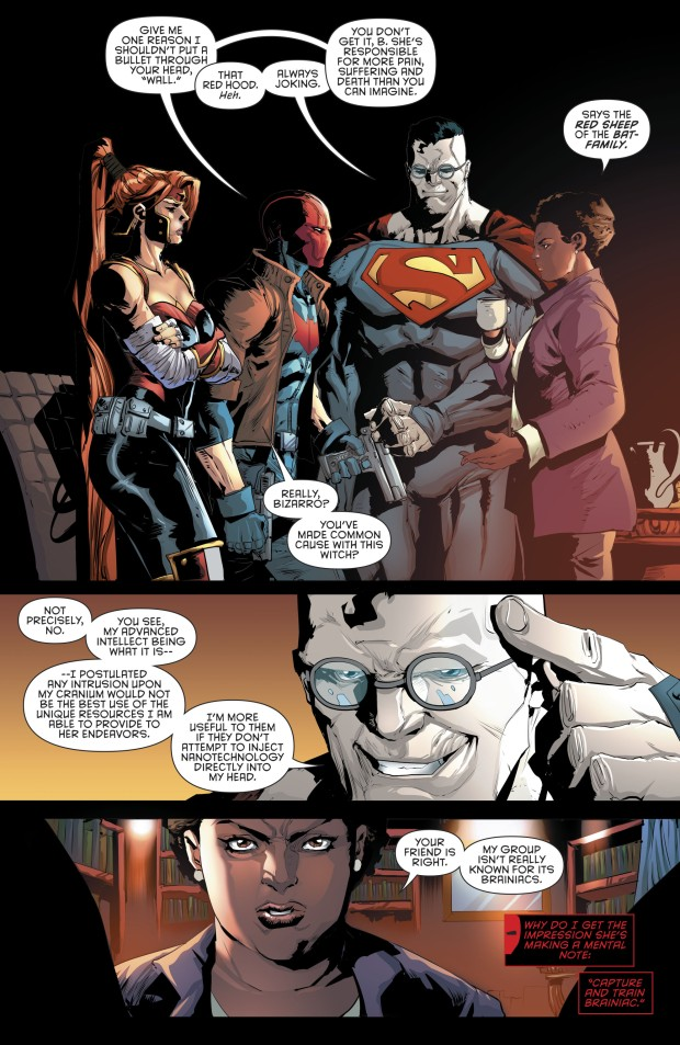 Red Hood And The Outlaws Meets Amanda Waller