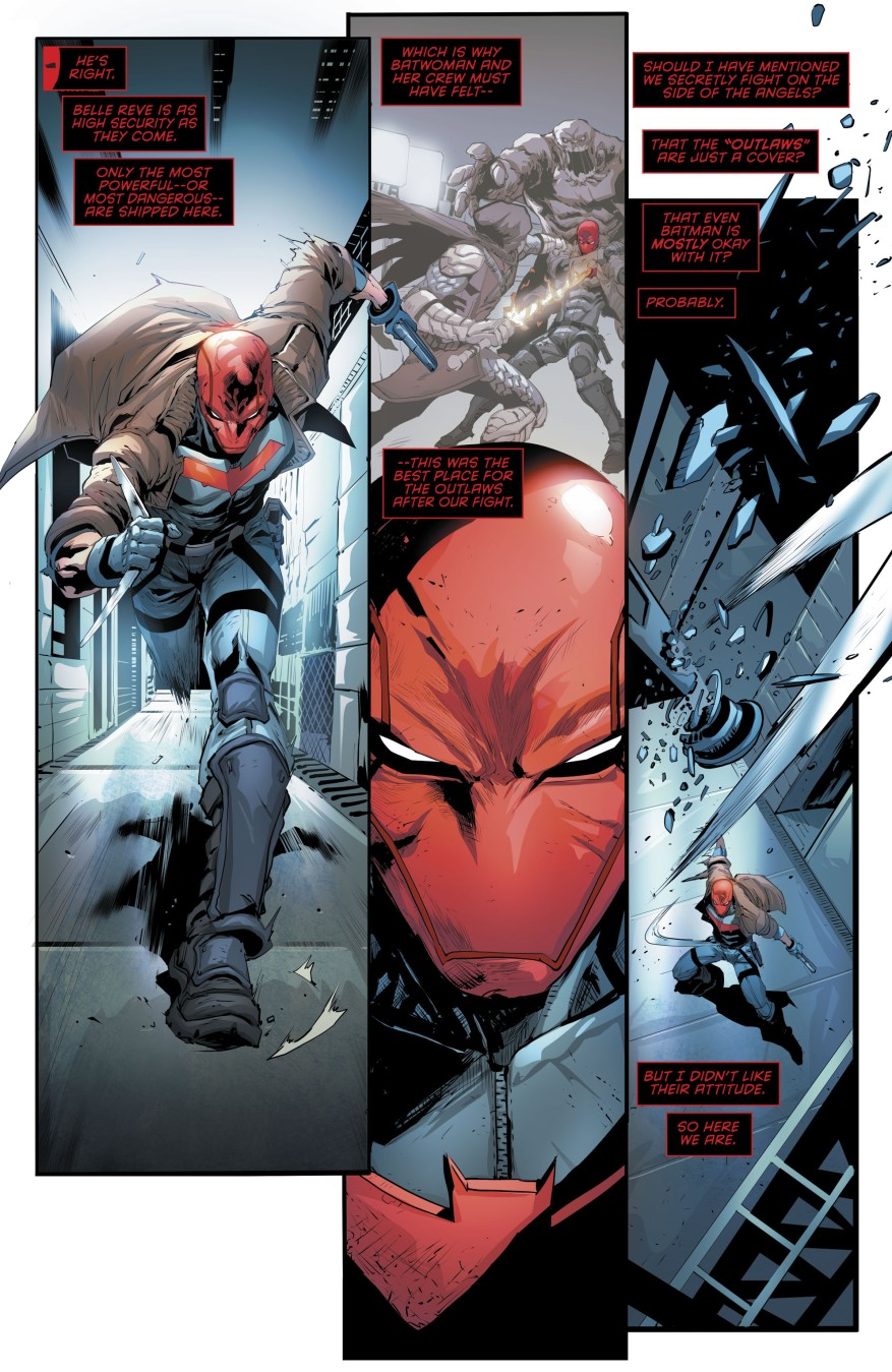 Red Hood Escapes From Captain Boomerang