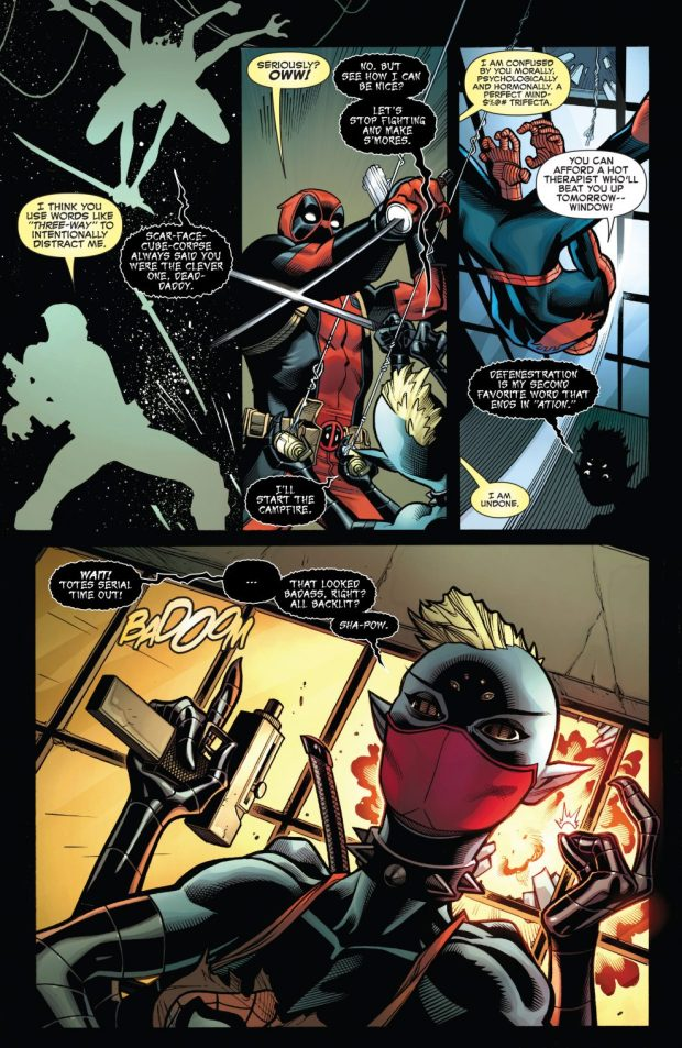 Spider-Man And Deadpool VS Itsy Bitsy