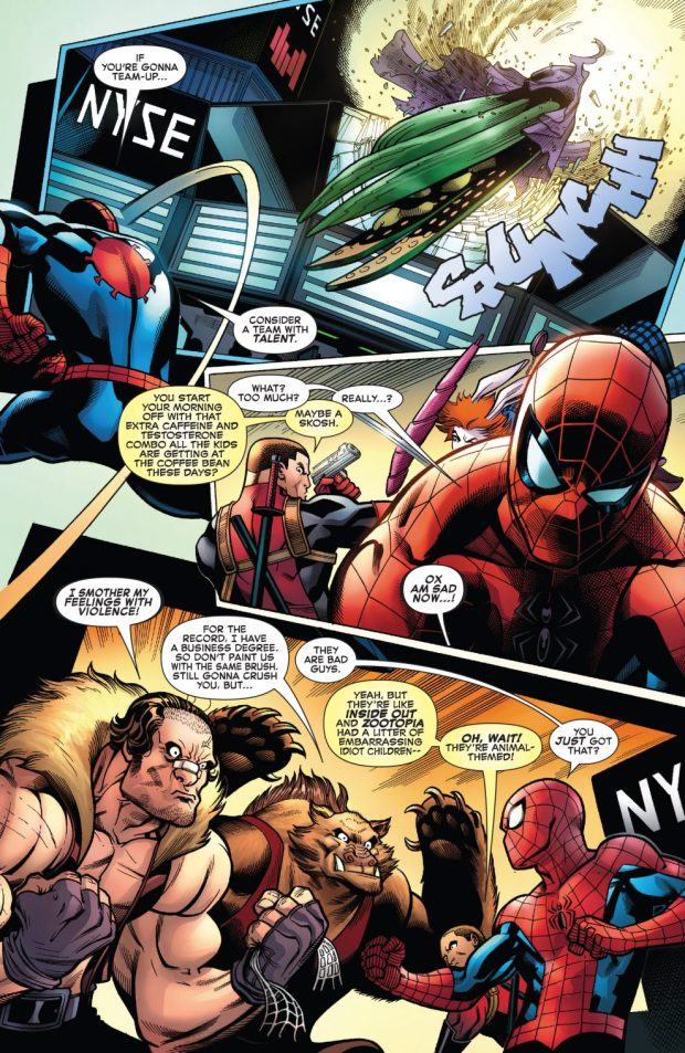 Spider-Man And Deadpool VS The Hateful Hexad