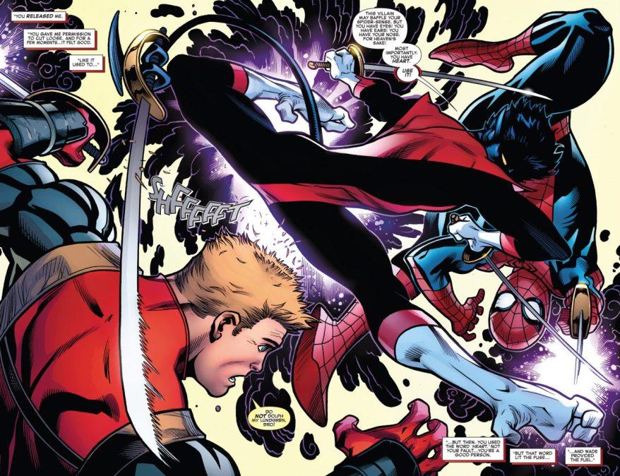 Spider-Man VS Nightcrawler