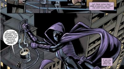 Spoiler Destroys The Bat Signal (Rebirth)