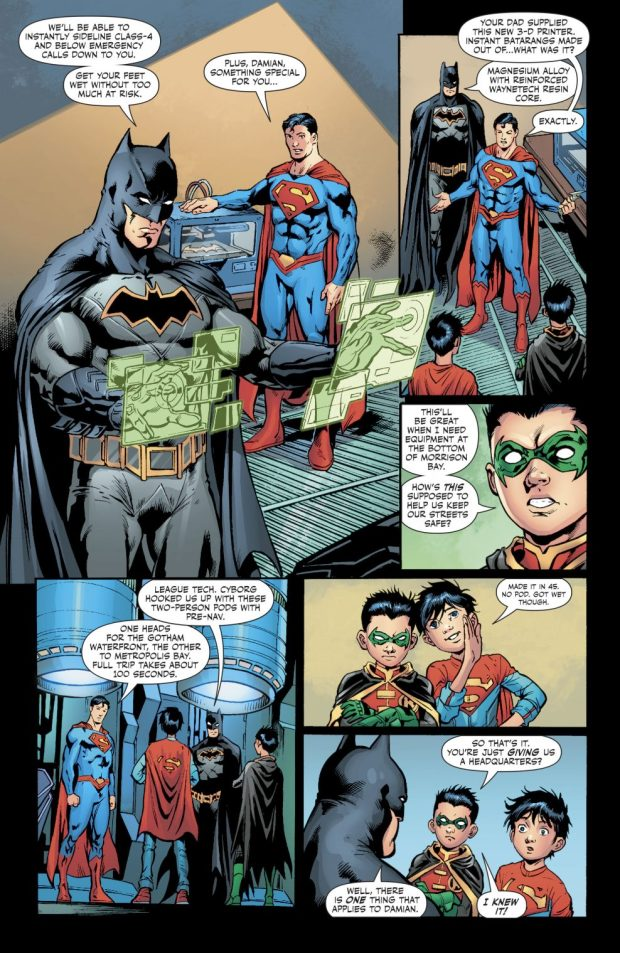 Superboy And Robin's Fortress Of Attitude