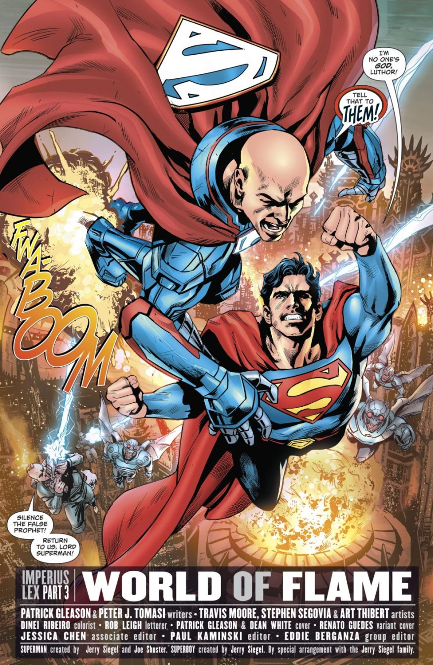Superman And Lex Luthor (Superman Vol 4 #35)