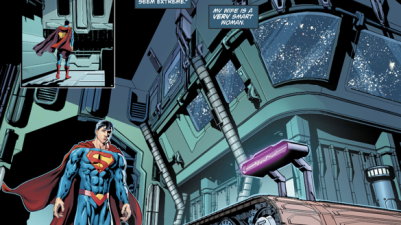 Superman Uses The Cosmic Treadmill (Rebirth)