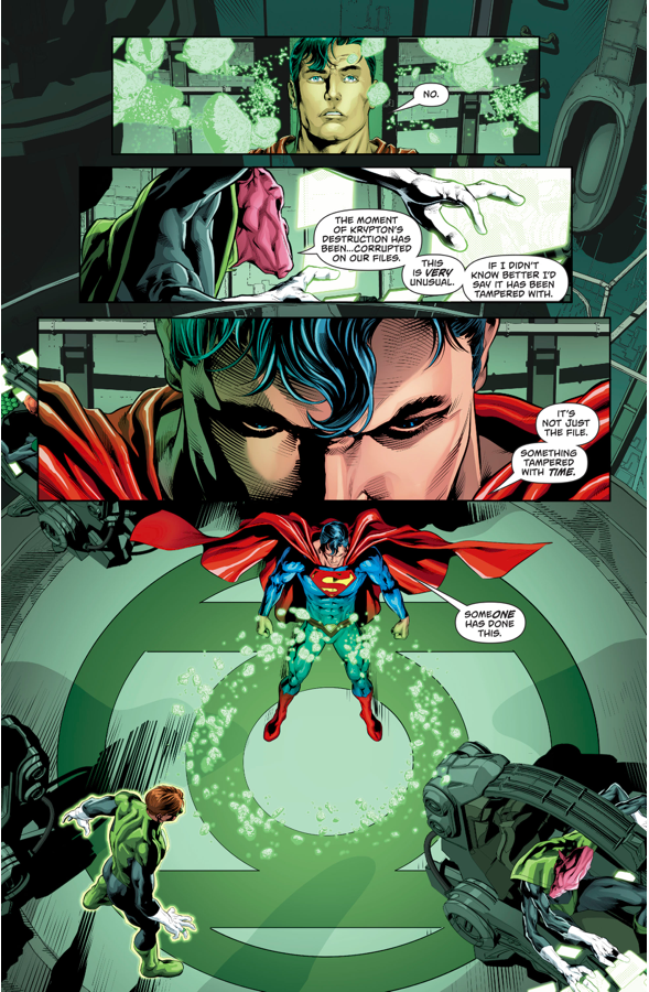 Superman Visits Mogo (Rebirth)