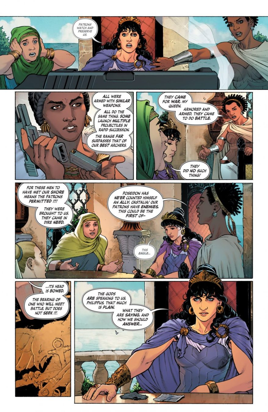 The Amazons Discover Guns (Rebirth)