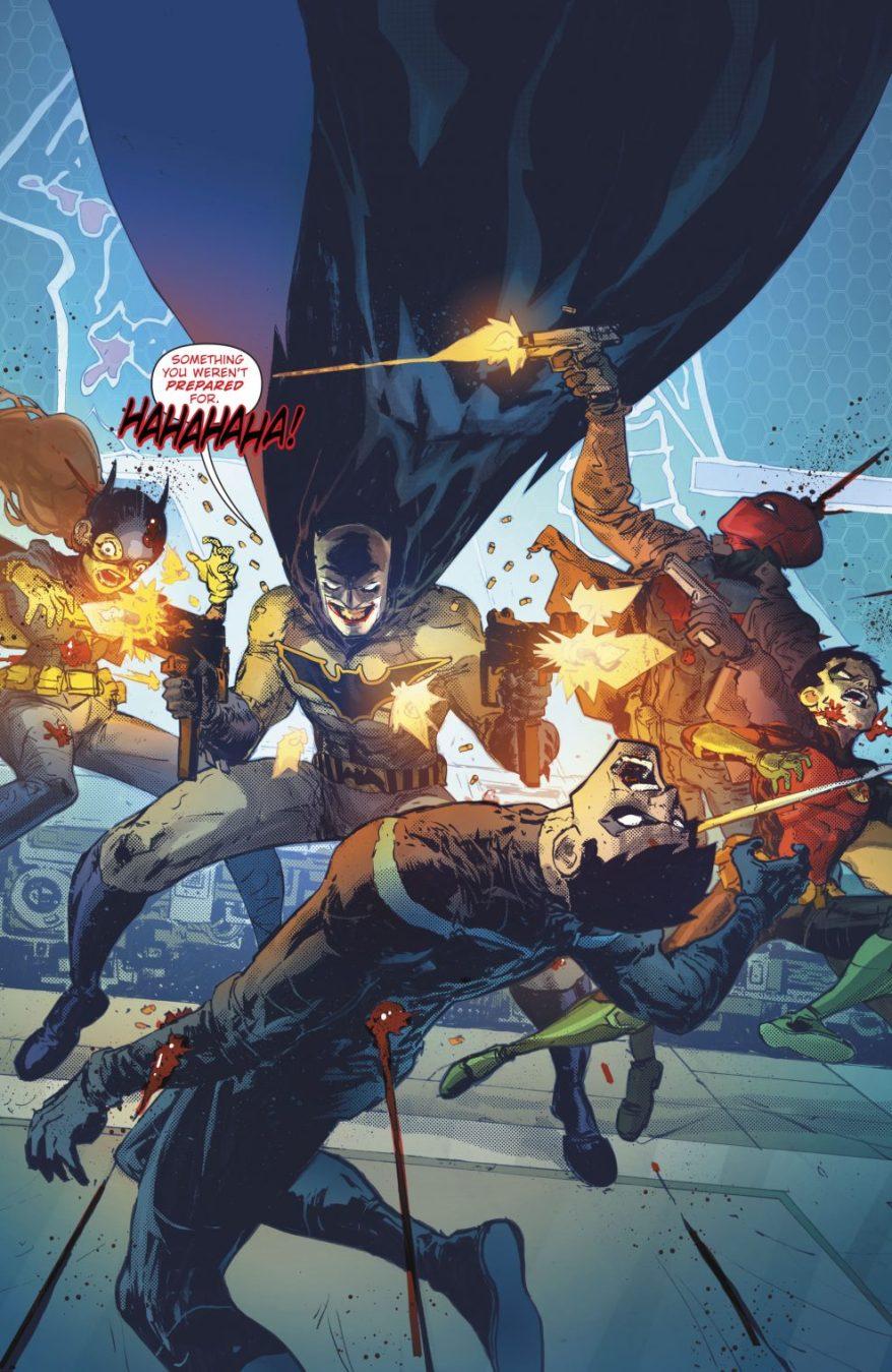The Batman Who Laughs Kills The Bat Family