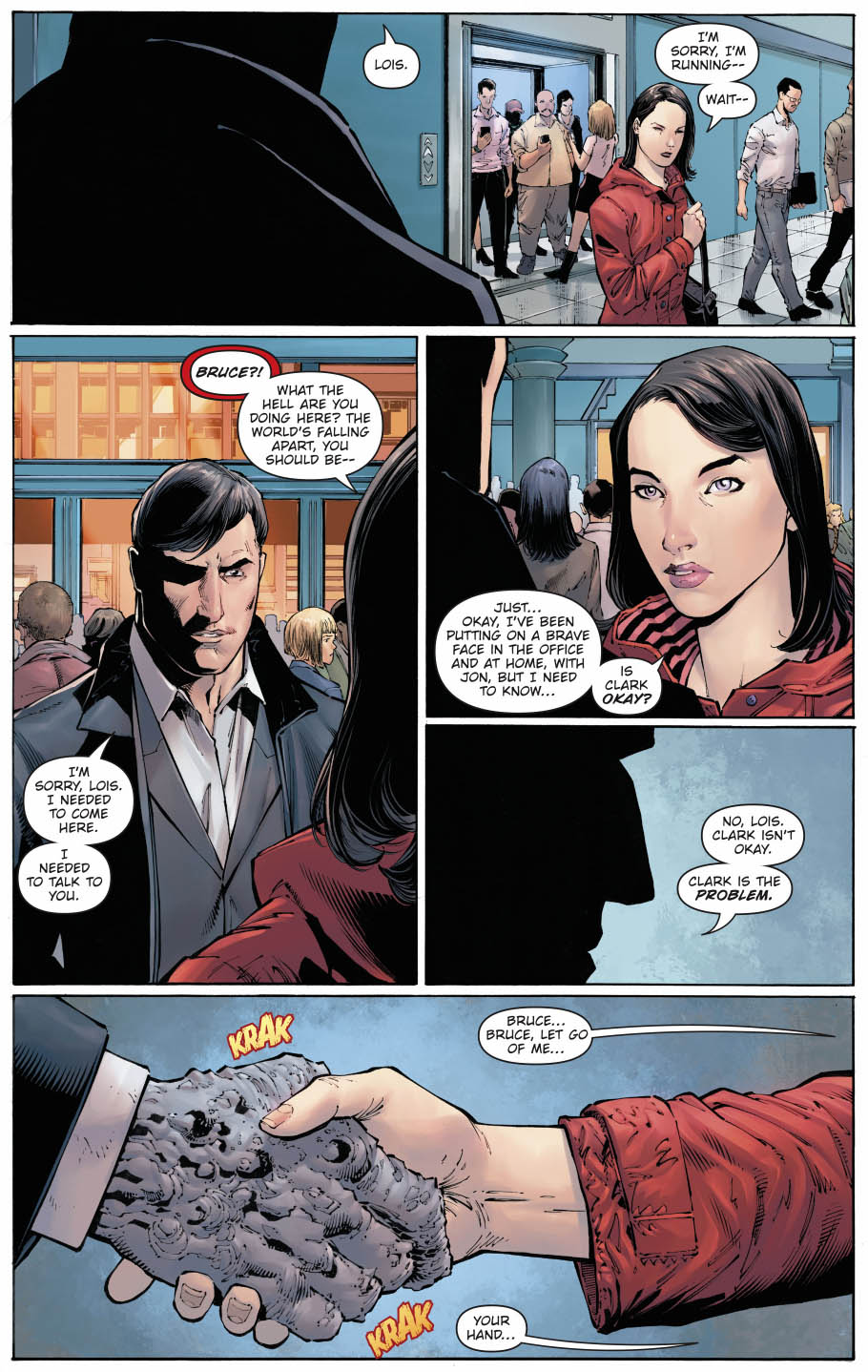 The devastator infects lois lane with the doomsday virus comicnewbies the devastator infects lois lane with the doomsday virus thecheapjerseys Image collections