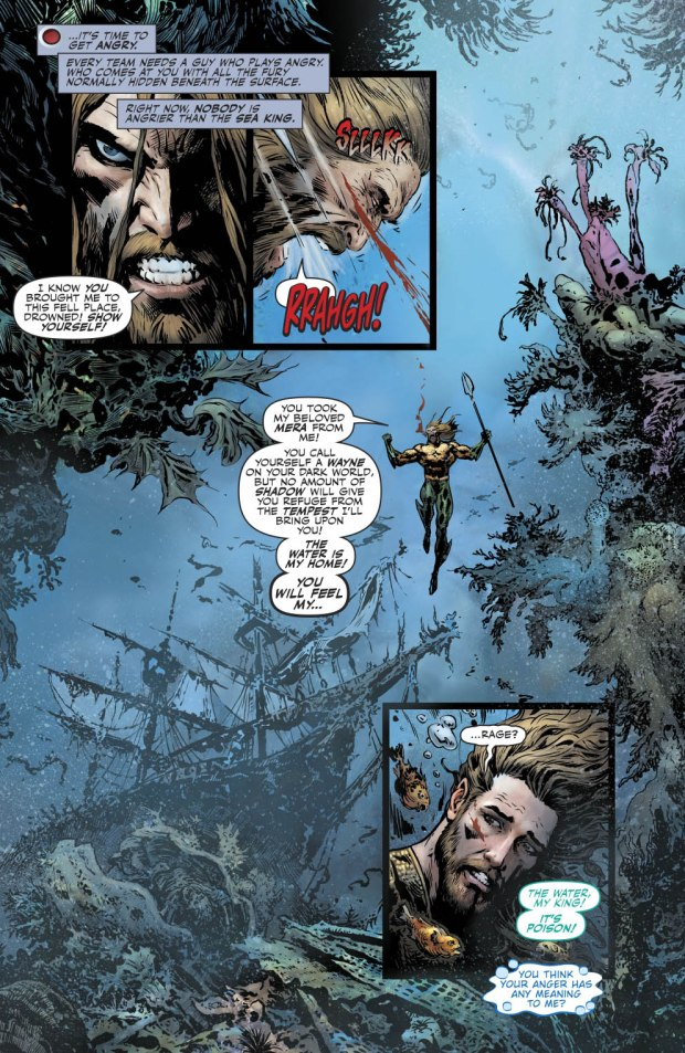 The Drowned Turns Mera Into A Sea Monster