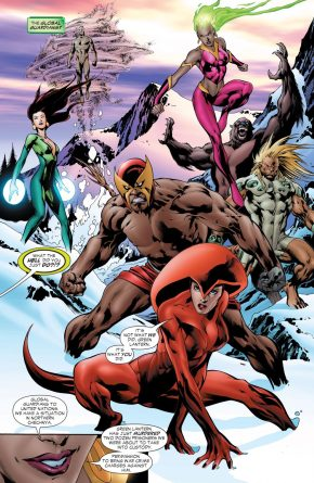 The Global Guardians (Green Lantern Vol. 4 #14)