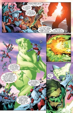 The Rocket Red Brigade Arrests Hal Jordan