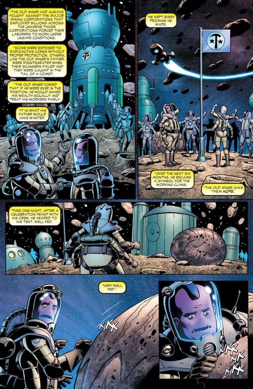 The Tale Of Sinestro Corps Member Bedovian
