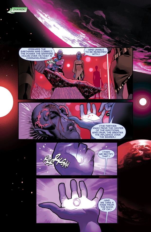 The Zamarons Create The Star Sapphire Ring