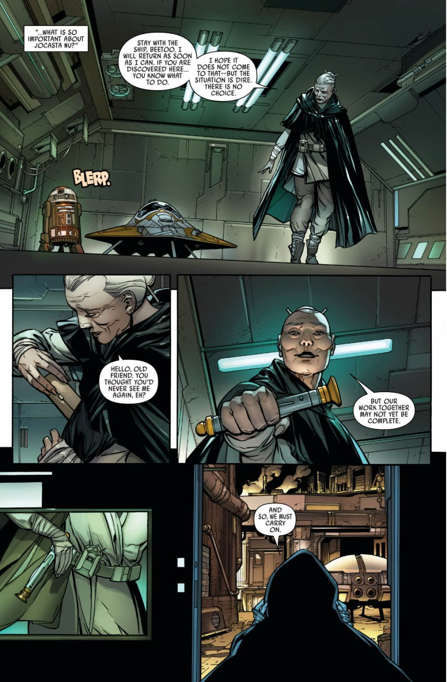 Why Jocasta Nu Is Dangerous To The Sith