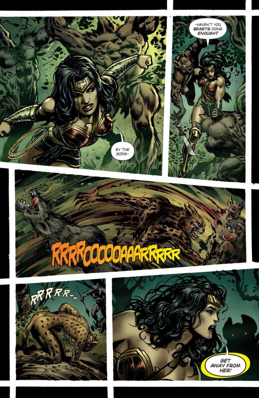 Wonder Woman And Cheetah Teams Up (Rebirth)