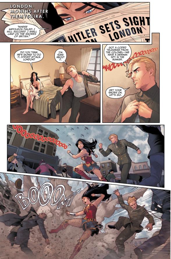 Wonder Woman Fights In World War II (Injustice II)