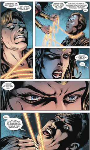 Wonder Woman Kills Steve Trevor (Injustice II)