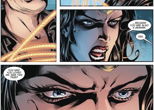 Wonder Woman Kills Steve Trevor (Injustice II)