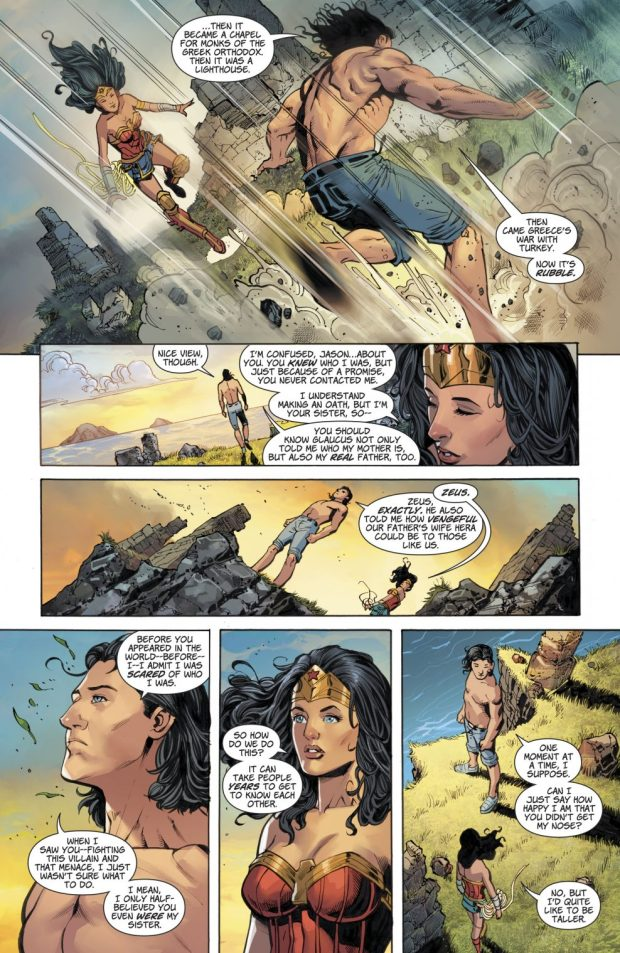 Wonder Woman Meets Her Twin Brother Jason (Rebirth)