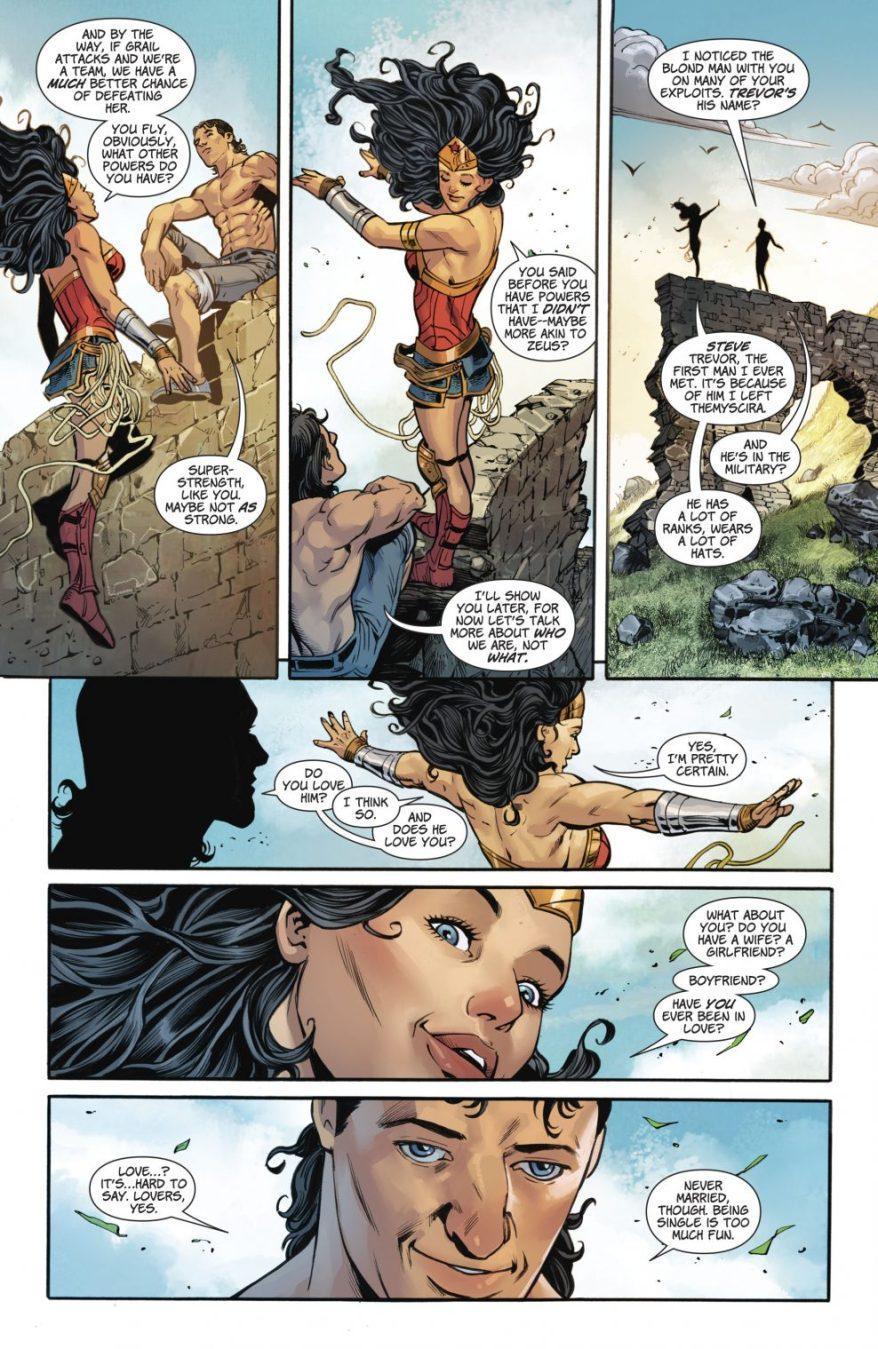 Wonder Woman Meets Her Twin Brother Jason (Rebirth)