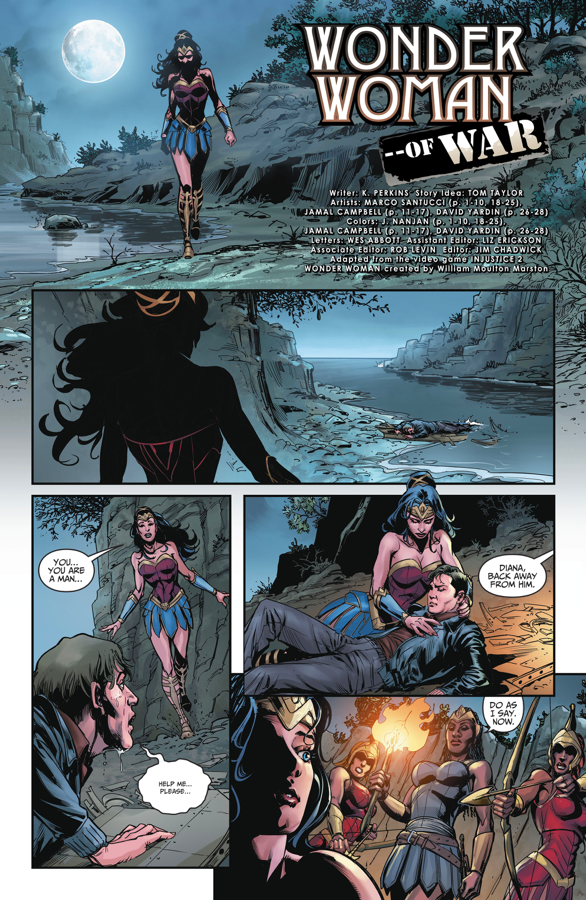 Wonder Woman Meets Steve Trevor (Injustice II)
