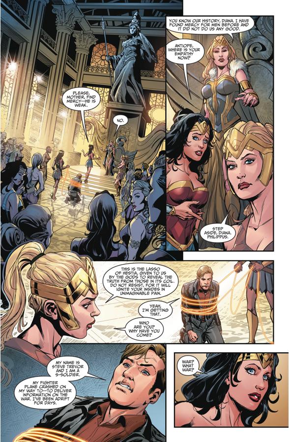 Wonder Woman Meets Steve Trevor (Injustice II)