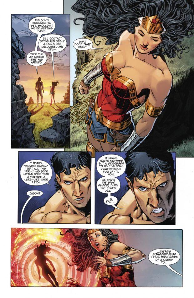 Wonder Woman VS Jason And Grail