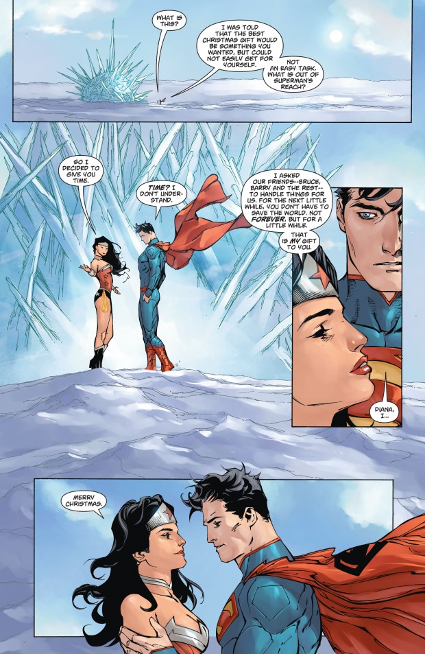 Wonder Woman's Christmas Gift To Superman (New 52)