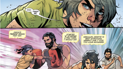 Zeus Trains Wonder Woman's Twin Brother Jason