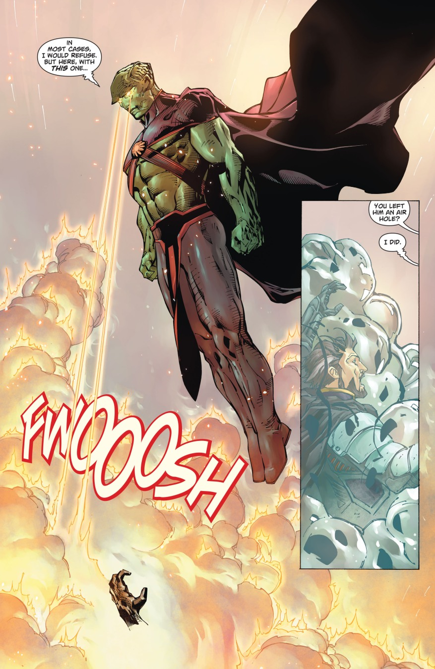 Zod VS Justice League Of America (New 52)