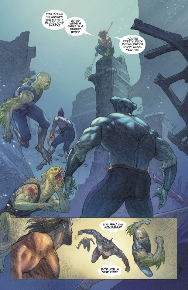 Aquaman Recruits King Shark
