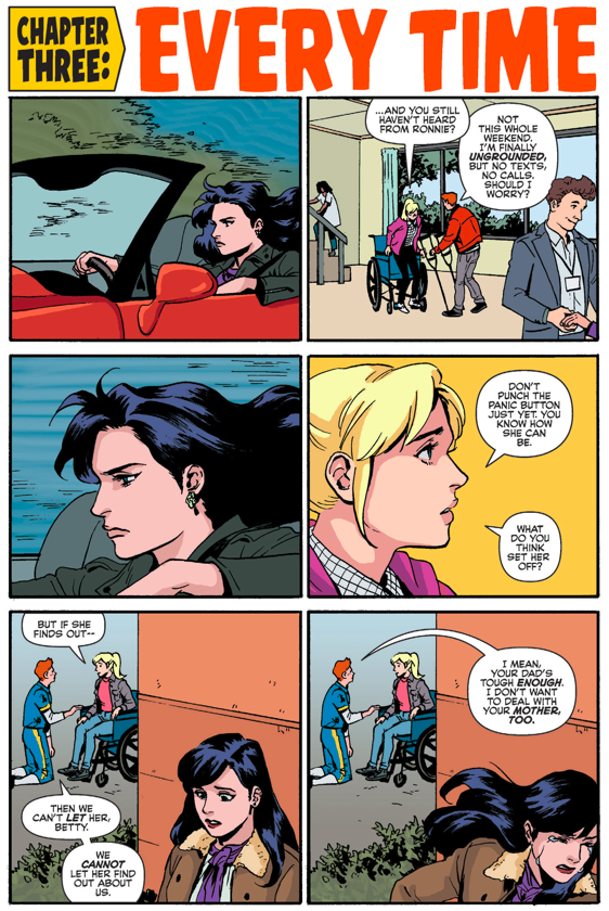 Archie Loves Betty And Veronica