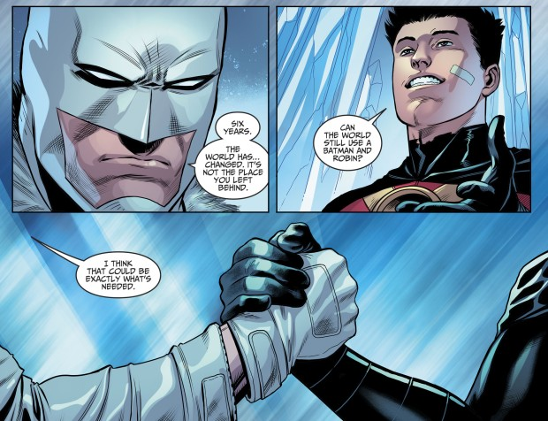Batman And Red Robin Reunites (Injustice II)