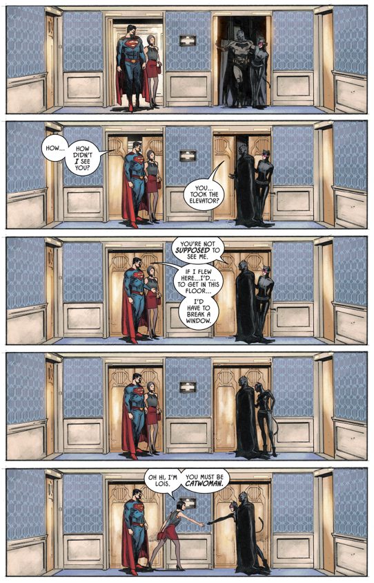Batman And Superman Respects Each Other (Rebirth) 1