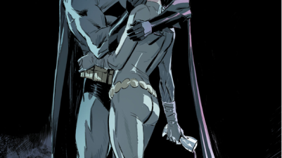 Batman Kisses Catwoman (Batman Vol. 3 Annual #2)