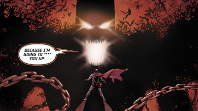 Batman Poisons Zod With Fear Gas (Injustice II)