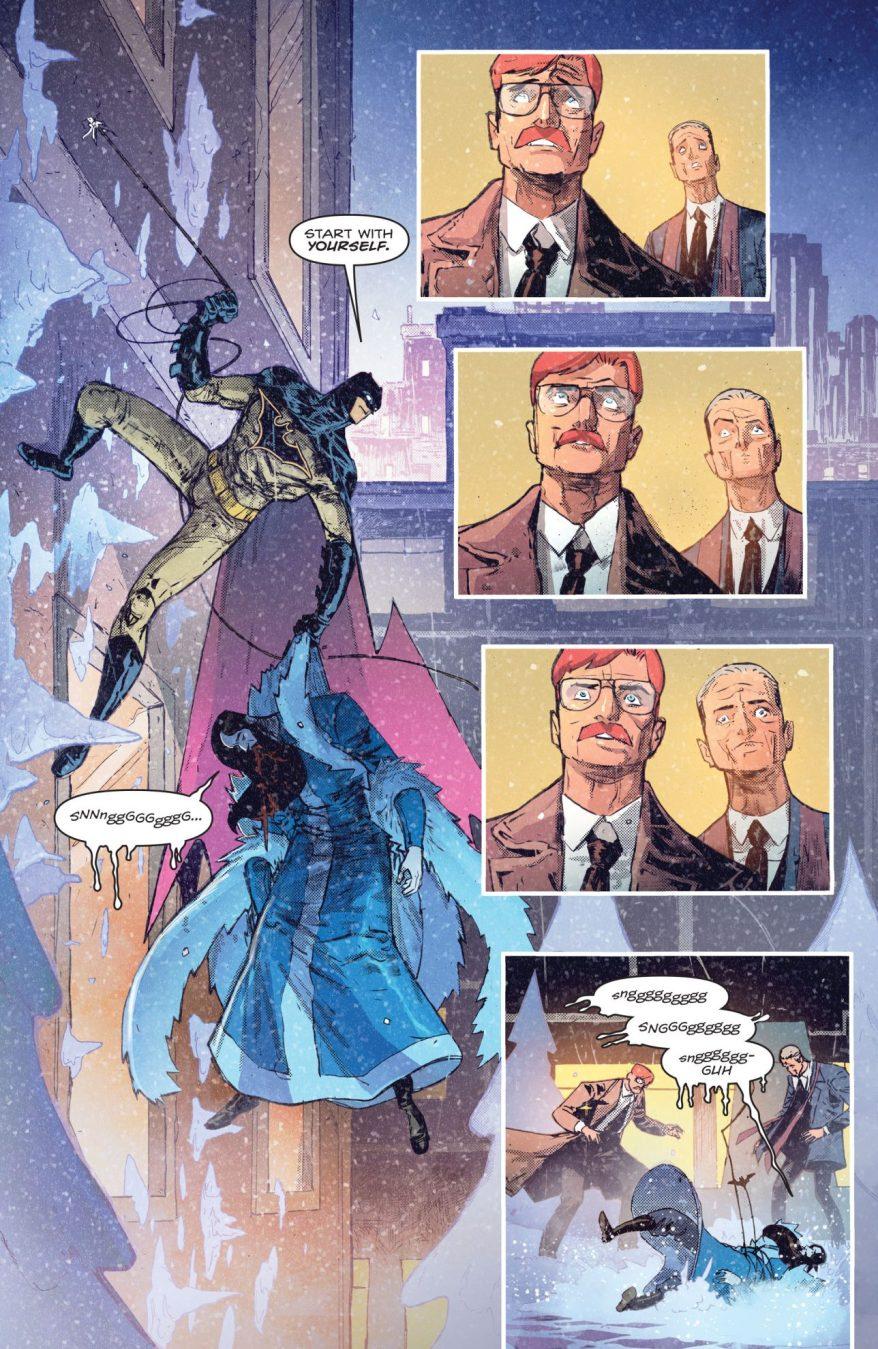 Batman VS Minister Blizzard